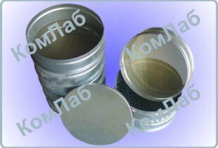 Комплект сит для грунта КП-131 (0,1, 0,25, 0,5, 1, 2, 5, 10мм) оцинк. D=200 мм