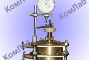 Прибор компрессионно-фильтрационный ПКФ-01 Определение коэффициента фильтрации глинистых грунтов