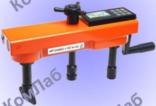Измеритель прочности бетона отрывом со скалыванием ОНИКС-ОС (0,5…100 Мпа) – обеспечивает: полный контроль процессов нагружения и измерения силы, автоматическое вычисление прочности с учётом вида бетона, способа твердения и типоразмера анкера