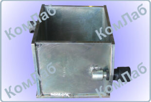 Форма куба для бетонных образцов 150х150х150 одногнездная оцинкованная (ФК-150)