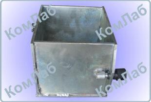 Форма куба для бетонных образцов 200х200х200 мм оцинкованная (ФК-200)