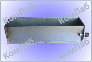 Форма призма для бетонных образцов 150х150х600 мм оцинкованная (ФП-150)