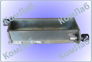 Форма призма для бетонных образцов 70х70х280 мм оцинкованная (ФП-70)